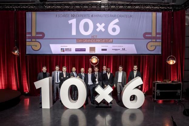 10 orateurs, 10 grands projets IT et 10 manières de tirer parti de l'informatique pour optimiser sa société.  (Photo: Maison Moderne)