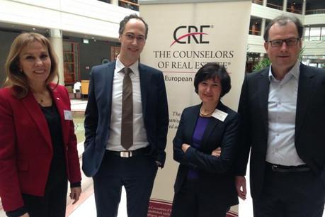 Les membres du Counselors of Real Estate se sont réunis vendredi soir dans la capitale.  (Photo: CRE)