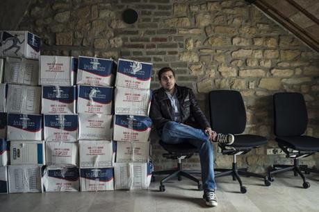 Déjà choisie pour figurer dans la première édition de Fit4Start, Nomoko, la start-up fondée par Vincent Pedrini a attiré l'attention du groupe Paul Wurth.  (Photo: Mike Zenari)