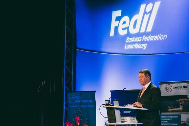 Robert Dennewald, président du conseil d'administration des Chaux de Contern, avait pris la tête de la Fedil en 2006. (Photo: Sven Becker / Archives)