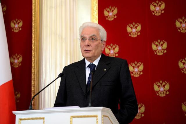 Le président italien, Sergio Mattarella, a cette fois-ci validé le nouveau gouvernement tel qu'il a été présenté par les deux partis populistes qui avaient décidé de former une coalition, le Mouvement 5 étoiles (antisystème) et la Ligue (extrême droite). (Photo: kremlin.ru)