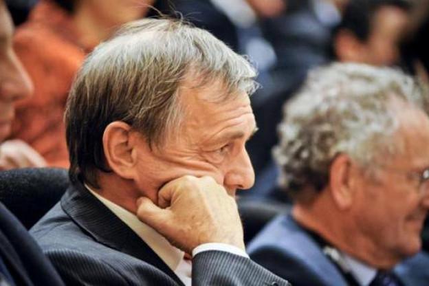 Jeannot Krecké, mis en cause, a dû sortir de sa réserve. Paul Helminger, témoin prudent, se tient un peu en retrait. (Photo : David Laurent/wide/archives)