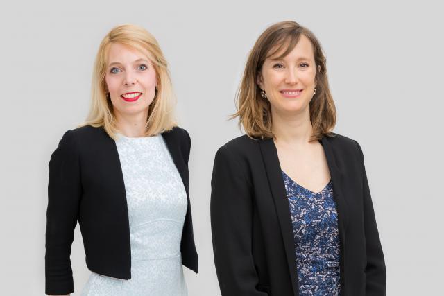 Elisabeth Guissart et Claire Denoual, Avocats à la Cour, /c law. Crédit Photo: / c law