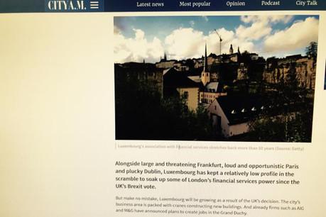 Selon City A.M., le Grand-Duché aurait toutes ses chances d'accueillir de nouvelles entreprises étrangères sur son territoire. (Photo: DR)