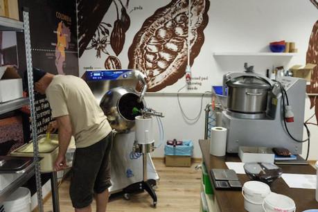 Financement d'équipements pour un atelier de fabrication de chocolat en Colombie. Crédit Photo: Luxfactory