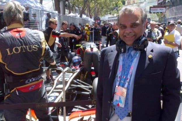 Mansoor Ijaz affirme avoir fait une nouvelle offre pour rentrer dans Lotus F1. (Photo: Grand Prix 241)