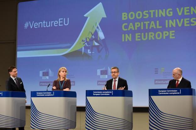 Au total, l'Union européenne espère mobiliser 6,5 milliards d'euros pour financer en capital ses entreprises innovantes. (Photo: EC - Audiovisual Service)