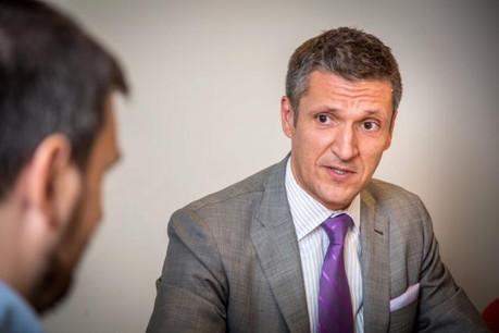 Pour Zoltán Nagy, ambassadeur de Hongrie en Belgique et au Luxembourg, la position hongroise aide l'UE «à garder le contrôle de la situation». (Photo: Benjamin Champenois)