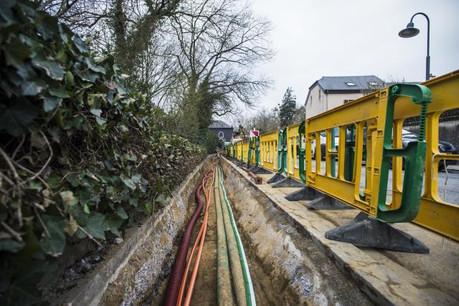 20.000 km de câbles ont été installés par Post Luxembourg en 2017. (Photo : Mike Zenari / archives)