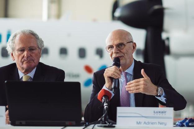 Adrien Ney se montre satisfait du travail des équipes, dans un contexte délicat pour les compagnies indépendantes. (Photo : Sebastien Goossens)