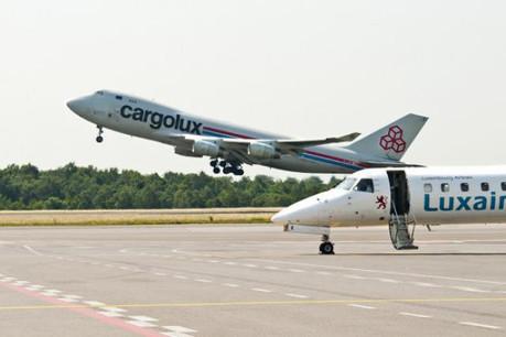 Le tandem Cargolux – Luxair reste évidemment solidaire. La seconde montera bien dans l'augmentation de capital de la première. (Photo: Andrés Lejona / archives)