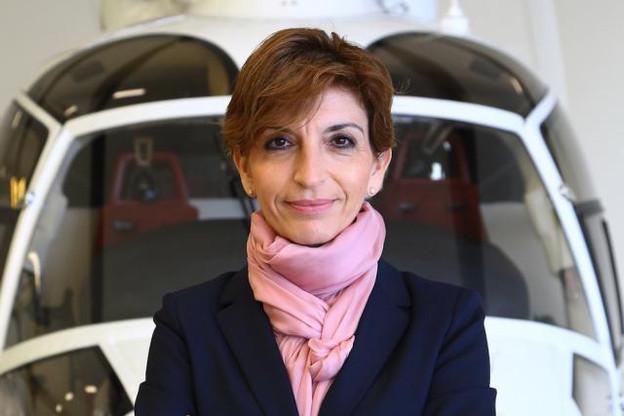 Ancien pilote de l'armée de l'air danoise, Charlotte Pedersen est la CEO de Luxaviation Helicopters. (Photo: luxaviation)