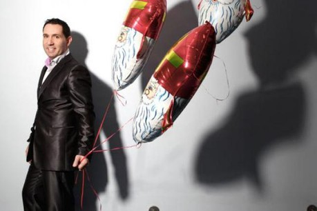 Sylvain Boucherat (Luxballoon) :«Tout le monde pensait que les ballons étaient exclusivement dédiés aux enfants.»  (Photo : Olivier Minaire)