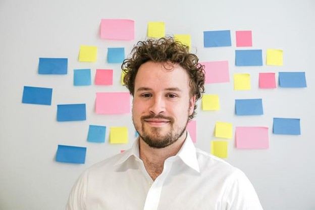 """Eelco Habets (responsable pour le Benelux de Raisin): """"The award ceremony offers lots of opportunities to learn and connect with other fintechs as well as politicians and financial experts from Luxembourg."""" (Photo: Raisin)"""