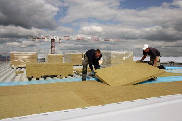 Knauf pourrait implanter une usine à Sanem. (Photo: Knauf)
