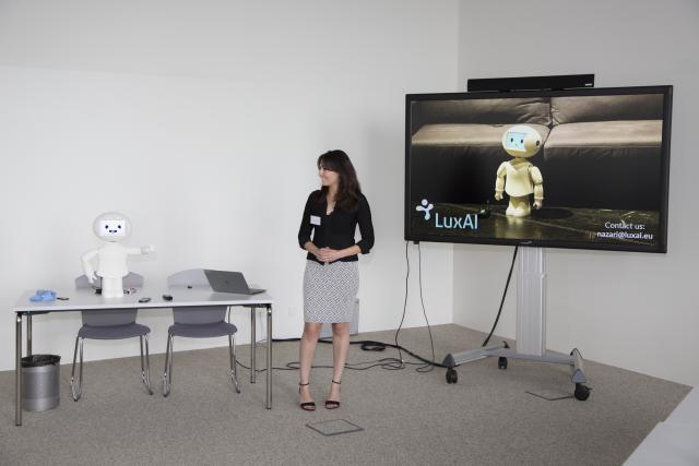 Pour accélérer le développement de la boîte, LuxAI envisage de lever des fonds prochainement. (Photo: Deloitte)