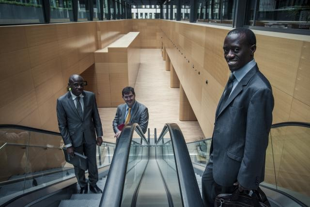 Si la présence luxembourgeoise en Afrique est pour l'instant faible, l'appétit des investisseurs locaux est bien réel. Valère Twagirayezu, le président de LuxAfrica (droite).  (Photo: Mike Zenari / archives)