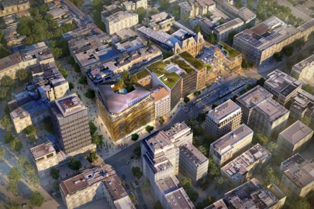 Parmi les projets en cours, les travaux du complexe Royal-Hamilius devraient s'achever en 2019. (Photo: JLL)