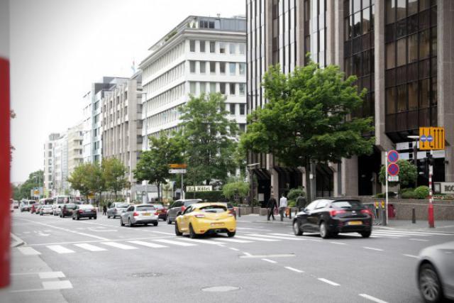 Le Boulevard Royal abrite notamment le siège de Manwin. Celui de MindGeek aussi désormais.  (Photo: Luc Deflorenne /archives)