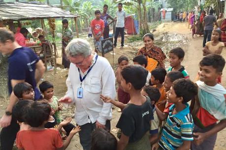 Le président de Friendship Luxembourg, Marc Elvinger, s'est rendu au Bangladesh fin octobre. (Photo: DR)