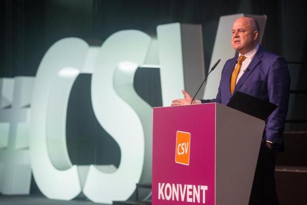 Président du CSV depuis 2014, Marc Spautz cédera sa place lors du congrès du parti programmé le 26 janvier prochain. (Photo: Matic Zorman / archives)