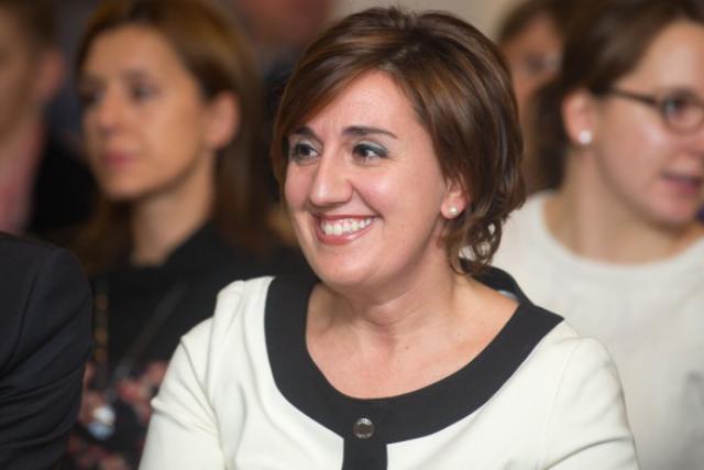 Marie-Christine Mariani, 42 ans, dirige l'entreprise de recyclage d'acier « MCM Steel». (Photo : Charles Caratini)