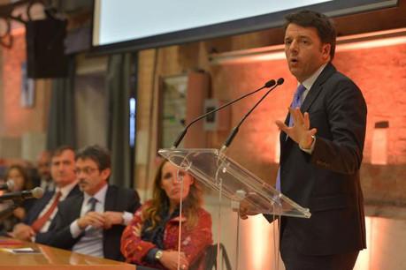 Matteo Renzi avait pris la présidence du Conseil italien en février 2014. (Photo: Licence CC)