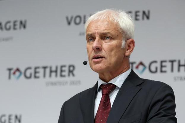 Le départ de Matthias Müller avait été annoncé par la presse allemande dès mardi.  (Photo: Licence C.C.)