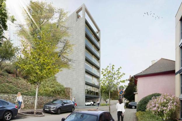 The Stik, le nouveau projet de Max Bauer, est un immeuble composé de petits espaces destiné à être loué à des créatifs. (Photo: Max Bauer)