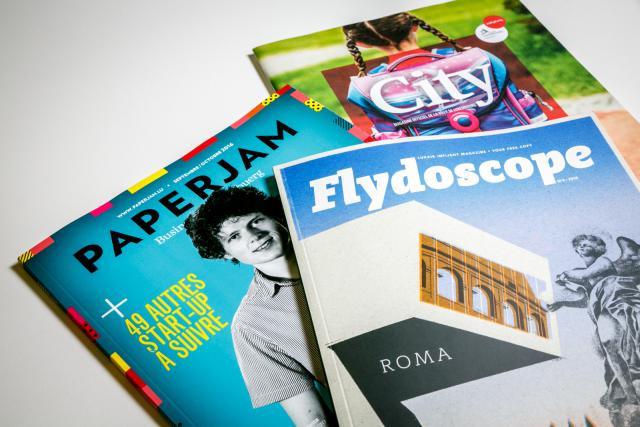 Paperjam, Flydoscope, City: le trio gagnant de Maison Moderne. (Photo: Maison Moderne)