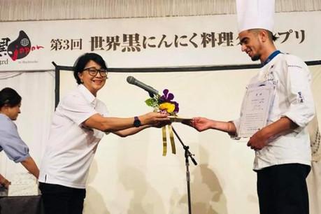 L'ail noir a mené le jeune chef jusqu'au Japon. (Photo: DR)