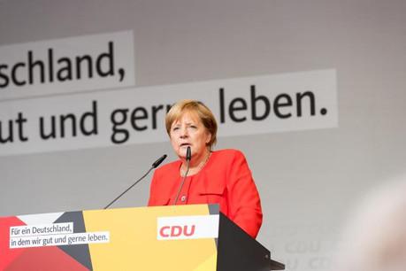 Malgré l'échec des négociations de coalition, Angela Merkel, affaiblie, annonce vouloir se présenter en cas d'élections législatives anticipées. (Photo: Licence C.C.)