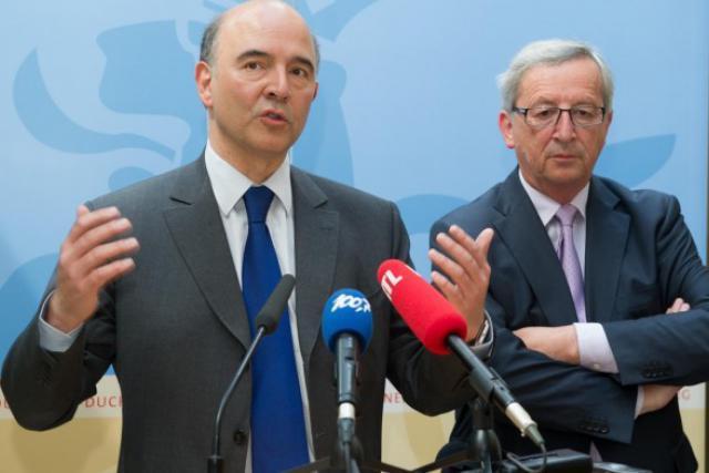 Pierre Moscovici et Jean-Claude Juncker, deux hommes qui se connaissent, s'apprécient... et pourraient travailler ensemble. (Photo: archives paperJam)