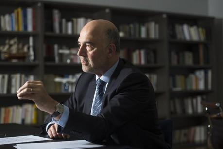 Pierre Moscovici devrait lancer le débat mardi prochain. (Photo: Anthony Dehez / archives)