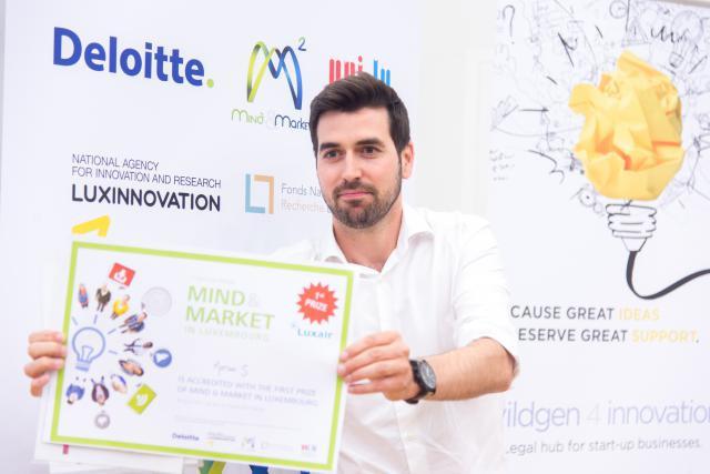 Raphaël Frank, fondateur de Motion-S. (Photo: Charles Caratini)