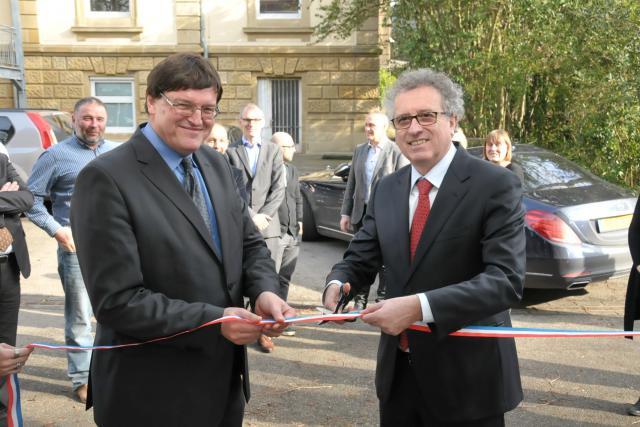 Le Luxembourg prêt pour l'échange d'informations? Pierre Gramegna a en tout cas inauguré le 18 février les nouveaux bureaux qui y sont dédiés. (Photo: MinFin)