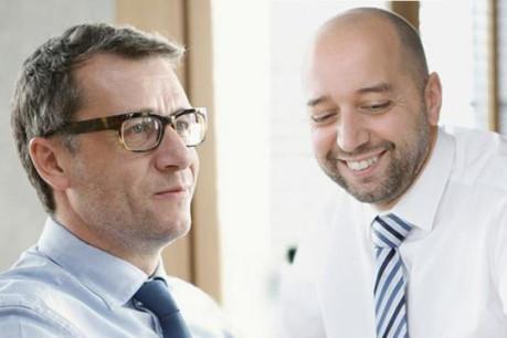 Éric Lux et Gerard Lopez, les fondateurs de Genii Group (Photos : Luc Mullenberger/arhives)