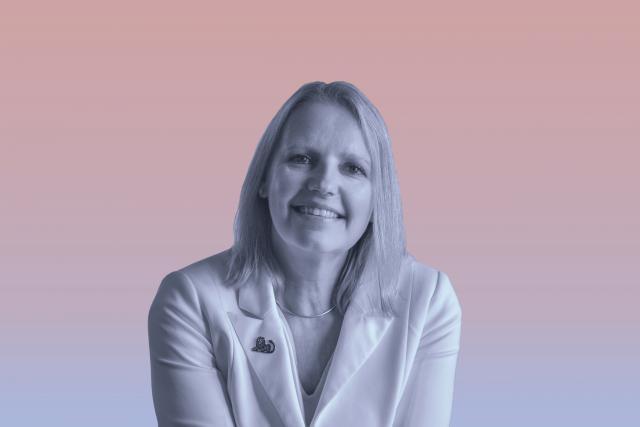 Colette Dierick: «J'ai choisi des femmes pour des postes vacants à la direction d'ING. Il faut aller les chercher et prendre des risques.» (Photo: Maison Moderne / studio)
