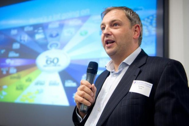 Neil Ward est le nouveau CEO de la société Kneip. (Photo: Delano)