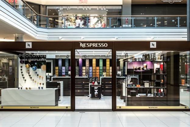 Ce point de vente est le 457e de la marque, et le huitième en Belux. (Photo: Nespresso)