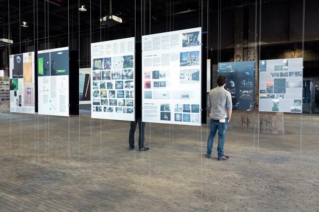 Les 22 projets présélectionnés sont exposés à Belval à la Halle des poches à fonte.  (Photo: Fonds Belbal)