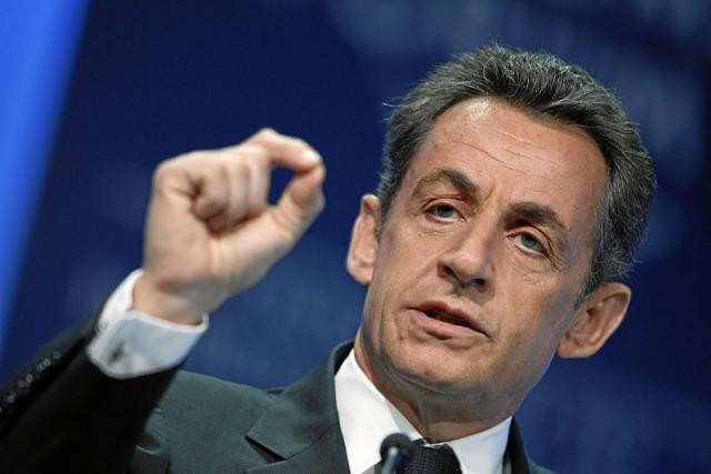 Nicolas Sarkozy est entendu dans les locaux de la police judiciaire de Nanterre concernant les soupçons de financement libyen de sa campagne de 2007. (Photo: Licence C.C.)