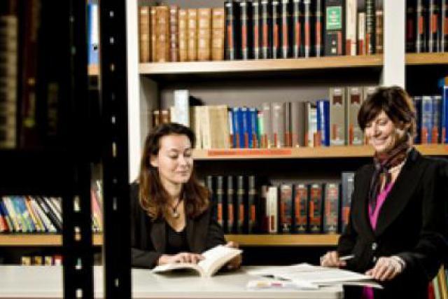 Marie-Béatrice Noble et Katia Scheidecker: «Créer un cabinet d'avocats différent des autres» (Photo: Julien Becker)