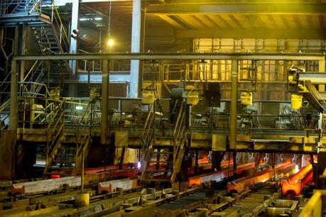 Le géant mondial tire encore profit des technologies développées par Arcelor avant la fusion: les poutrelles de Differdange et les palplanches de Belval.  (Photo: Charles Caratini / archives)