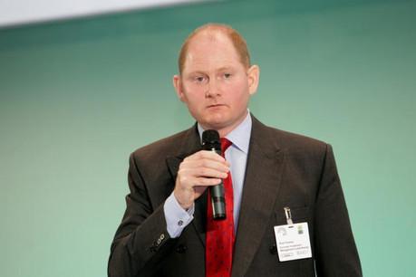 Noel Fessey a dirigé pendant plus de 13 ans la société de gestion de fonds Schroder Investment Management (Luxembourg) et intervient régulièrement aux conférences Alfi (ici en 2013). (Photo: Luc Deflorenne / archives)