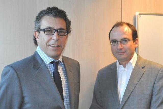 Laurent Rouach et Jean-François Champigny (PwC): «On observe une progression de la sensibilité des entreprises à ces questions.» (Photo : © 2011 PricewaterhouseCoopers S.à r.l)