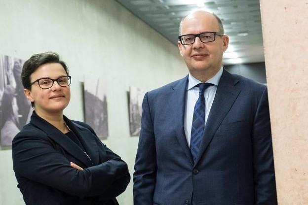 Gilles Breuer et Rosa De Tommaso: «Nous sommes d'avis que la gestion des ressources humaines ne doit pas se passer exclusivement dans le département RH.» (Photo: Encevo)