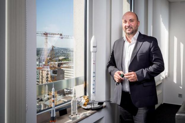Le futur cadre légal permettant aux entreprises de posséder les ressources spatiales doit être déposé «en octobre»à la Chambre, indique Étienne Schneider. (Photo: Maison Moderne)