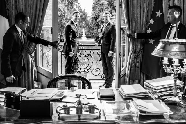 Jeudi 20 juillet, Xavier Bettel a effectué une visite de travail à Paris pour y rencontrer le Premier ministre français Édouard Philippe et le président Emmanuel Macron. (Photo: Anthony Dehez)
