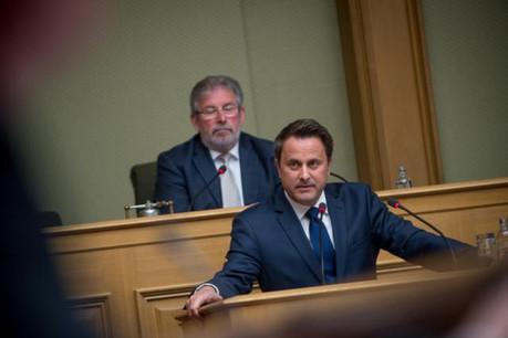 Devant les députés, Xavier Bettel a réitéré sa volonté de n'entamer les négociations du départ du Royaume-Uni de l'UE qu'après le déclenchement de l'article 50 du traité de Lisbonne. (Photo: Christophe Olinger/archives)